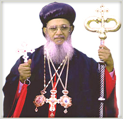 His Beatitude Mor Baselios Thomas I Catholicose of the East & Bangalore Diocesan Metropolitan